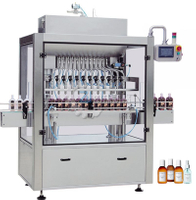Full automatic straight line type piston filling machine