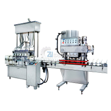 Fully Automatic Inline Cap Tightening Machine