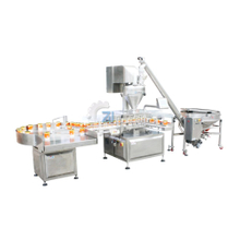 Automatic feeding and filling packing machine