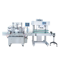 Full automatic self suction type piston filling machine