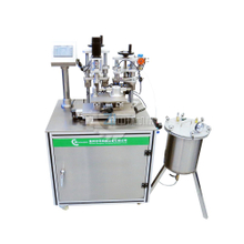 Nail polish filling and capping machine